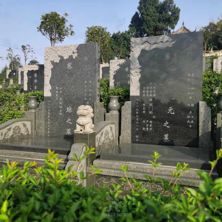 《升天殡仪网》龙泉成安渝高速燃灯寺公墓全景风水展示