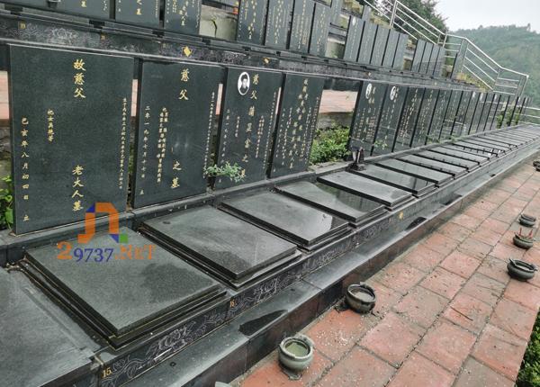 《恩亲网公墓巡视》西区金土坡公墓为数不多的纯自然环境的生态公墓