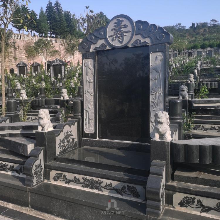 《龙泉公墓有哪些》洛带望场坡坐东朝西燃灯寺公墓航拍暨墓碑大全