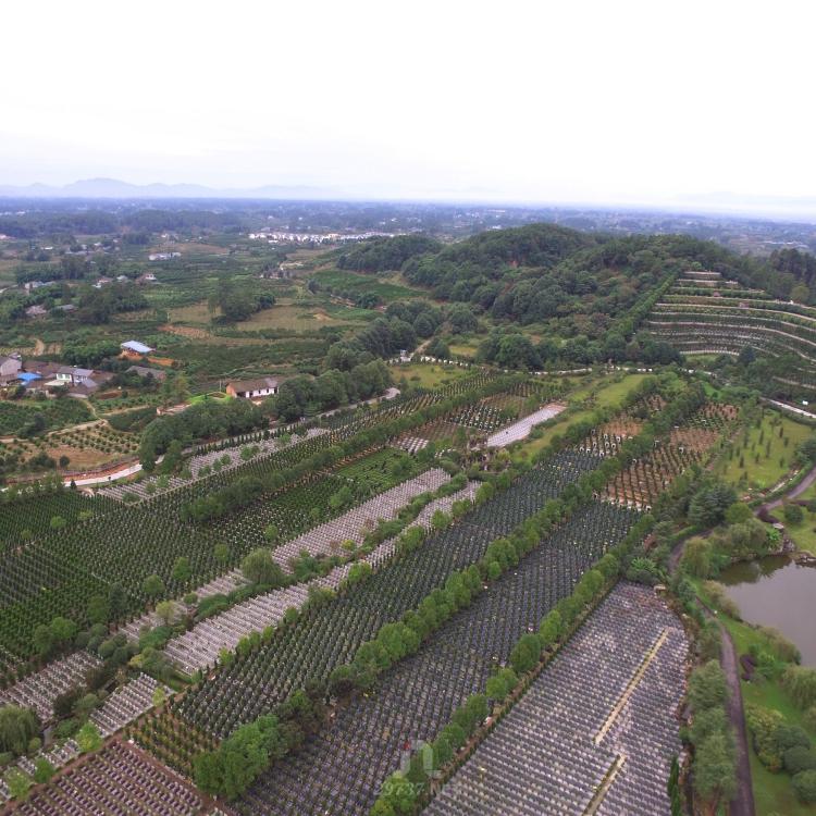 《换个角度看公墓》:大兴镇法华寺九仙山红枫艺术陵园和味江陵园航拍合集