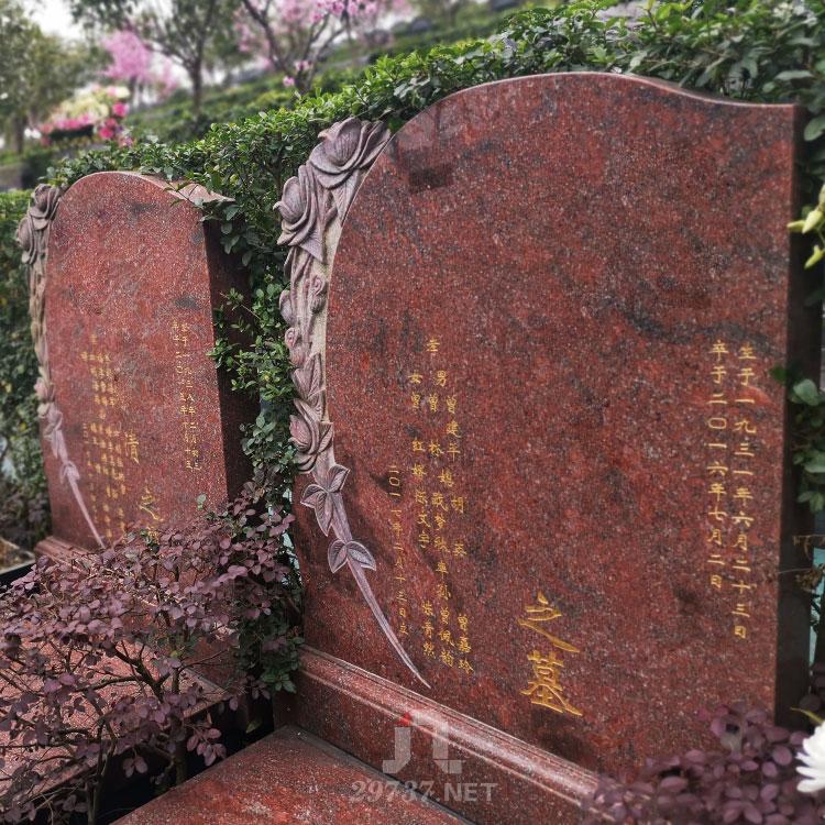 东郊殡仪馆金沙陵园:前有江流后有来龙左有流泉右有通衢